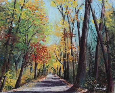 Painting - Starved Rock Park - Autumn Colors by Prashant Shah