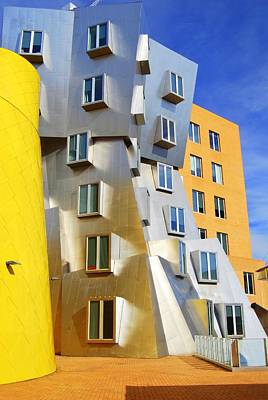 Art Print featuring the photograph Stata Building At M I T by Caroline Stella