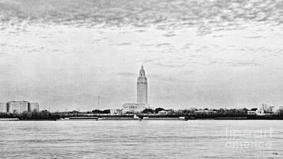 Pellegrin Photograph - State Capital Of Louisiana by Scott Pellegrin
