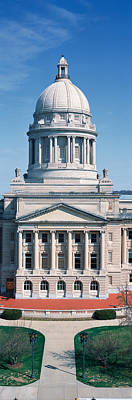 Historic Site Photograph - State Capitol Of Kentucky, Frankfort by Panoramic Images