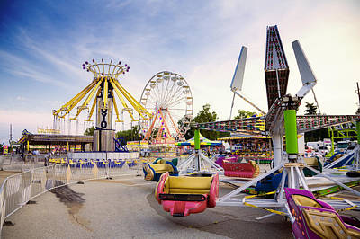 Photograph - State Fair by Alexey Stiop