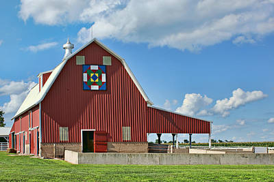 Barn Quilts Photograph - State Fair by Nikolyn McDonald