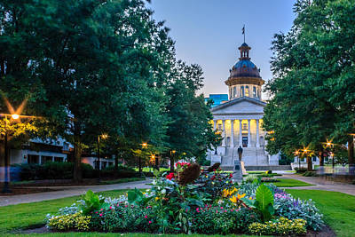 State House Garden Art Print by Rob Sellers