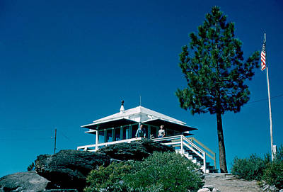 Photograph - State Line Lookout 1956 2 by Cumberland Warden