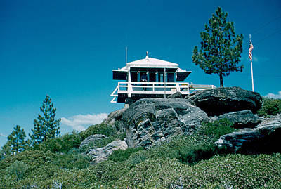 Photograph - State Line Lookout 1956 3 by Cumberland Warden