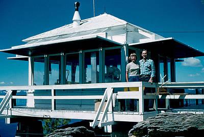 Photograph - State Line Lookout 1956 by Cumberland Warden