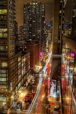State Street - Chicago - 12-14-13 Art Print