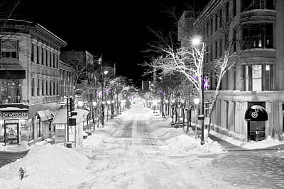Photograph - State Street Madison by Steven Ralser