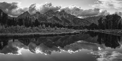 Teton Wall Art - Photograph - Stately Sentinels by Mike Lang