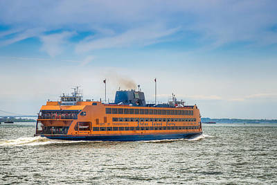Photograph - Staten Island Ferry by Chris McKenna