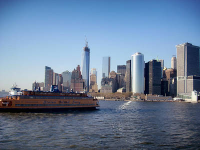 Staten Island Ferry Photograph - Staten Island Ferry by Mountain Dreams