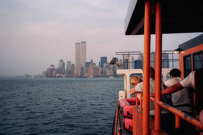 Staten Island Ferry View Art Print