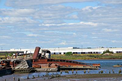 Photograph - Staten Island Tugboat Graveyard 2 by Steven Richman