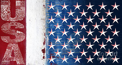 Photograph - States Stars And Stripes 1 by Wendy Wilton