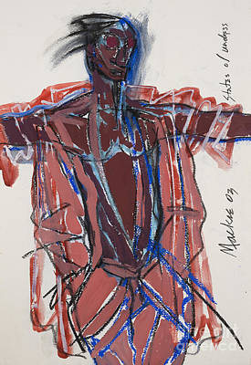 African-american Mixed Media - States Of Undress by Deryl Mackie