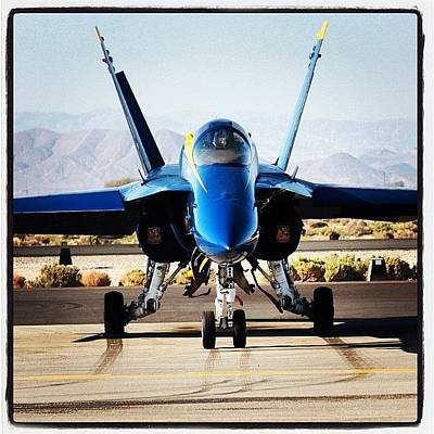 Jet Photograph - static Blue Angel #blueangels by Tyler Schuh