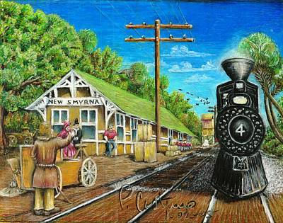 Loading Docks Painting - Station Break by Ap Cast
