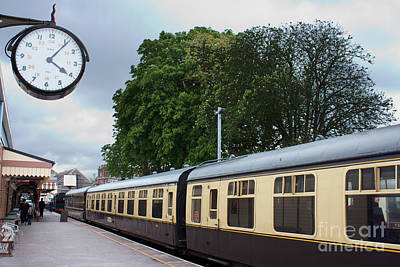 Photograph - Station Clock by Terri Waters