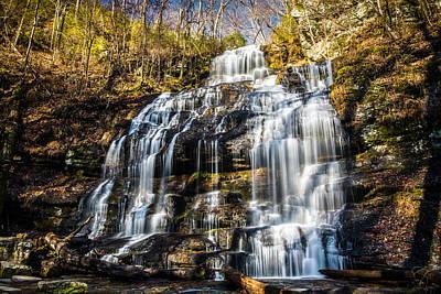 Photograph - Station Cove Falls by Randy Scherkenbach