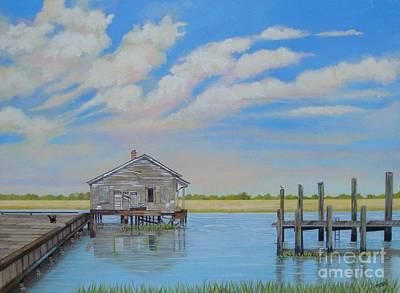 Isle Of Palms Painting - Station Sixteen Isle Of Palms by Martha Teti