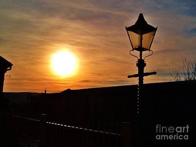 Photograph - Station Sunset by Richard Brookes