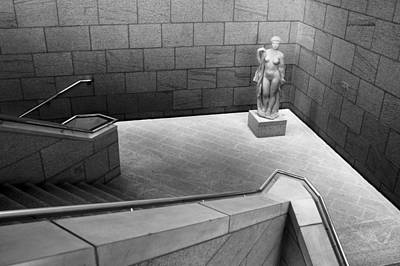 Photograph - Statue At National Gallery Of Canada by Jim Vance