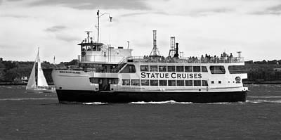 Photograph - Statue Cruise by Jatinkumar Thakkar