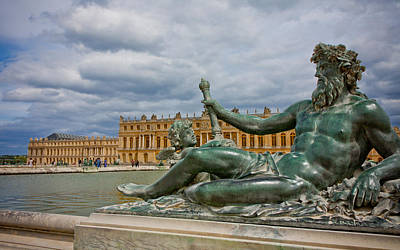 Photograph - Statue In Front Of Versailles by Anthony Doudt