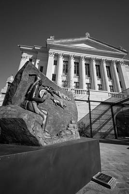 Photograph - Statue Near The Capital by Nathan Hillis