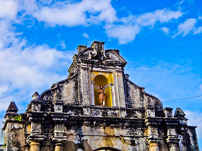 Photograph - Statue by Norchel Maye Camacho