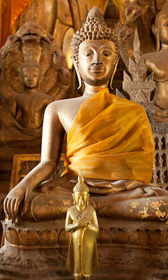 Photograph - Statue Of Buddha A - Photography By Jo Ann Tomaselli by Jo Ann Tomaselli