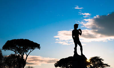 Photograph - Statue Of David by Avian Resources