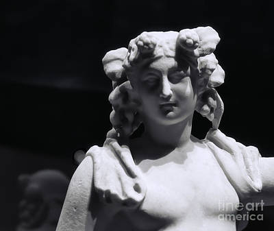 Bacchus Photograph - Statue Of Dionysus by Catherine Fenner