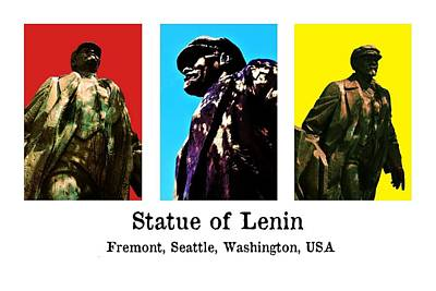 Lebowski Photograph - Statue Of Lenin - Fremont by Benjamin Yeager