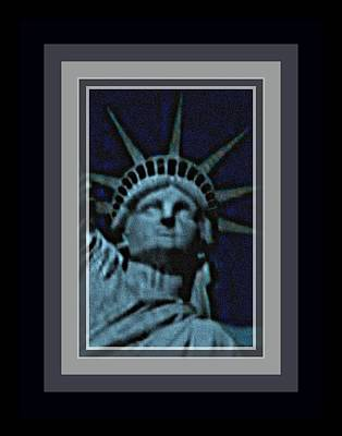 Statue Of Liberty 1 Art Print by Tracie Howard