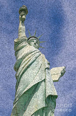 Digital Art - Liberty by Kenneth Montgomery