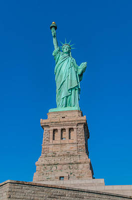 Statue Of Liberty Photograph - Statue Of Liberty by Chris McKenna