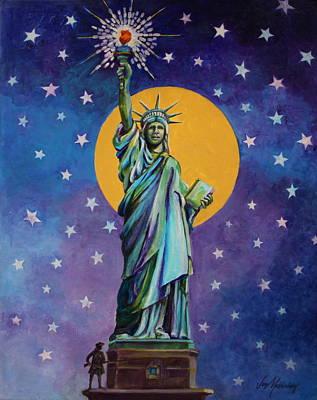Statue Of Liberty Original by Jan Mecklenburg
