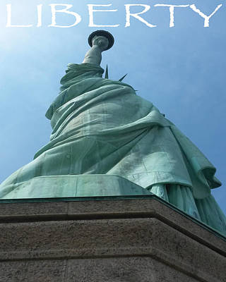 Photograph - Statue Of Liberty by Jason Girard