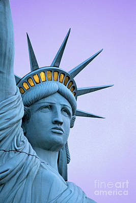 Photograph - Statue Of Liberty Las Vegas by Dennis Flaherty