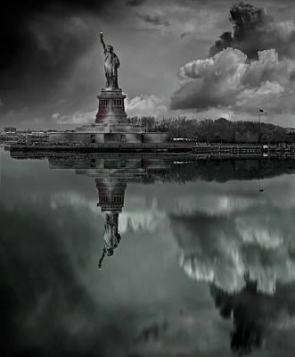Statue Of Liberty Wall Art - Photograph - Statue Of Liberty by Martin Zalba