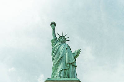 Photograph - Statue Of Liberty by Peter Lakomy