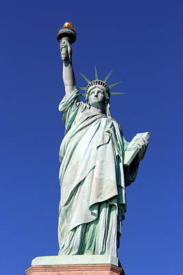 Photograph - Statue Of Liberty by Ramona Johnston