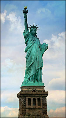 Torch River Photograph - Statue Of Liberty by Stephen Stookey
