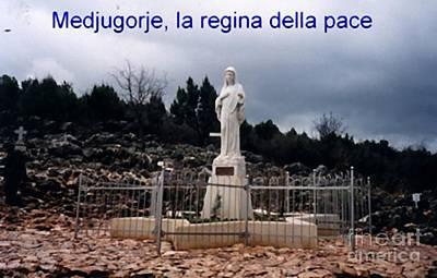 Miraculous Digital Art - Statue Of Maria by Archangelus Gallery