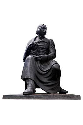 Photograph - Statue Of Nikolai Gogol  by Fabrizio Troiani