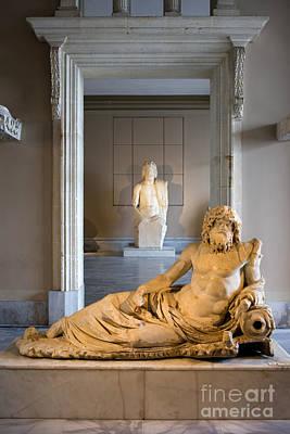 Zeus Photograph - Statue Of The Oceanus by Artur Bogacki