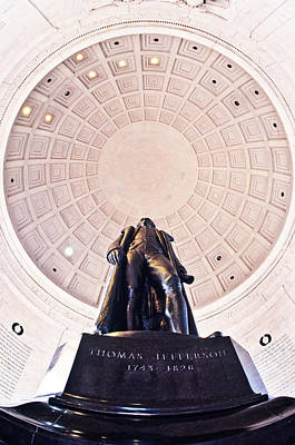 Thomas Jefferson Photograph - Statue Of Thomas Jefferson by Panoramic Images