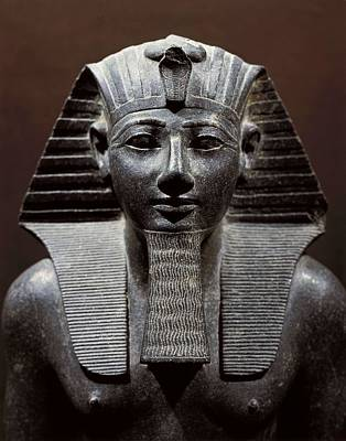 Statue Portrait Photograph - Statue Of Tuthmosis IIi. 1490 -1439 Bc by Everett