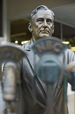 Franklin Photograph - Statue Of Us President Franklin D by Panoramic Images